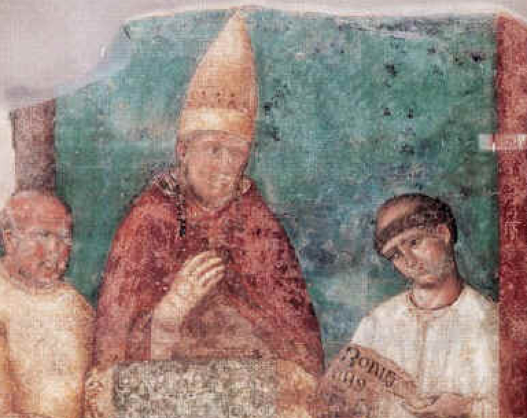Boniface VIII was the first Pope of the catholic Church to proclaim a Jubilee.