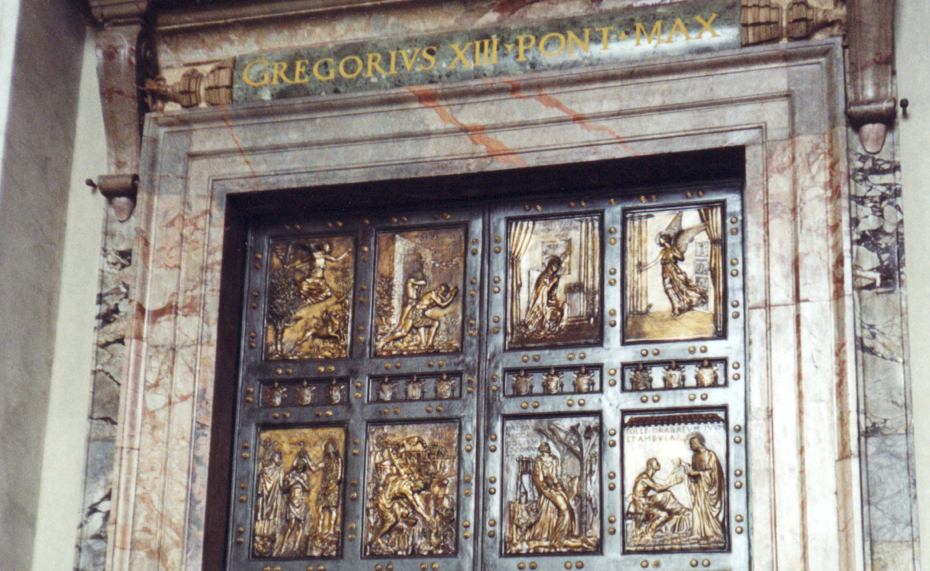 Jubilee, Rome - 8th December 2015 - 20th November 2016 - the Holy Door of Saint Peter's