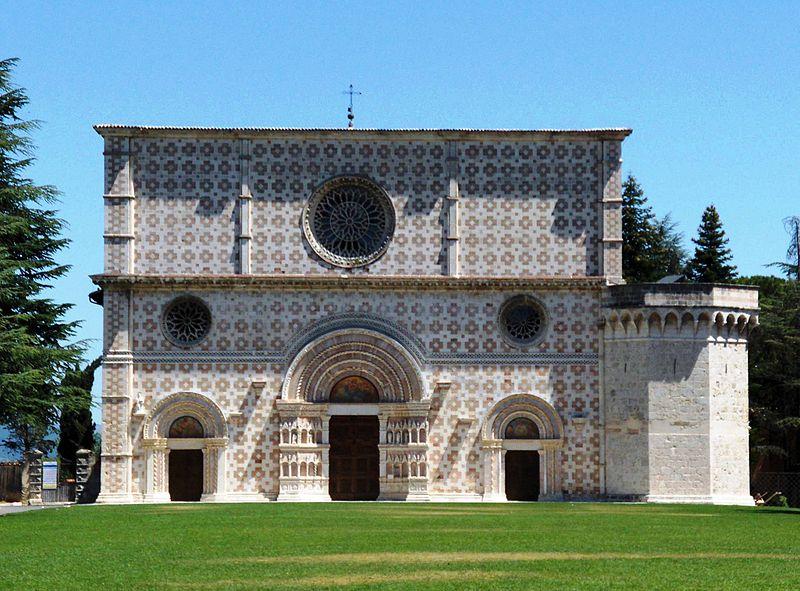 Basilica Collemaggio - Porta Santa - Perdonanza