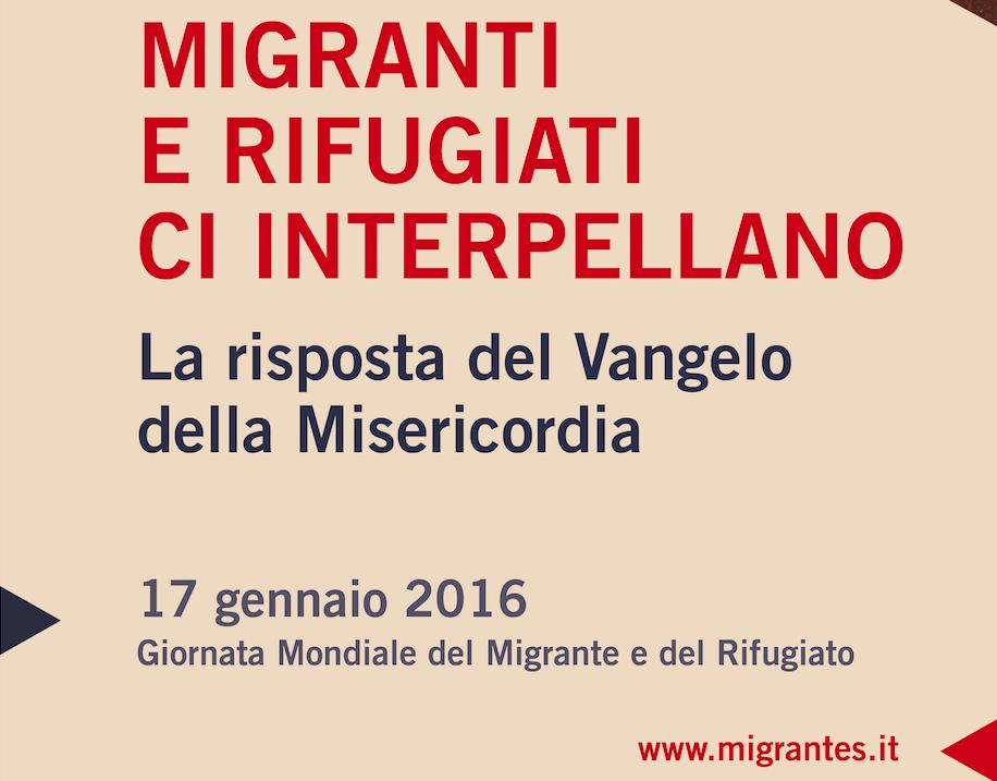 Roma, 17 gennaio 2016: Giubileo della Misericordia. Oggi è il Giubileo dei Migranti